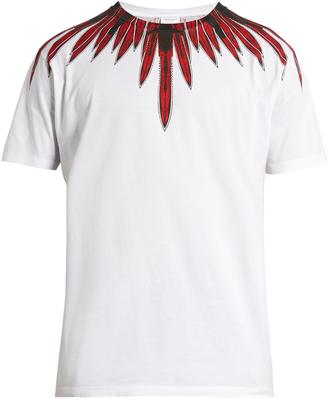 MARCELO BURLON Teodoro cotton-jersey T-shirt $148 thestylecure.com