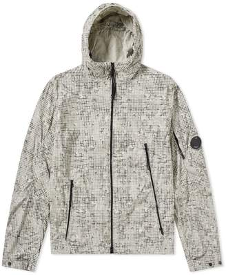 C.P. Company Hooded Digital Camo Arm Lens Windbreaker
