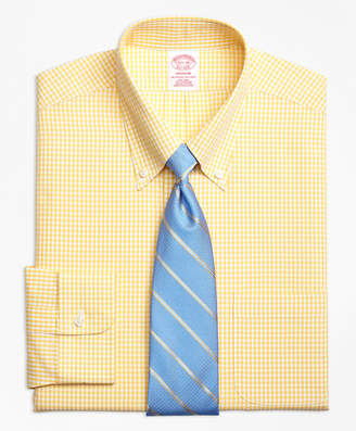 Brooks Brothers Madison Classic-Fit Dress Shirt, Non-Iron Dobby Gingham