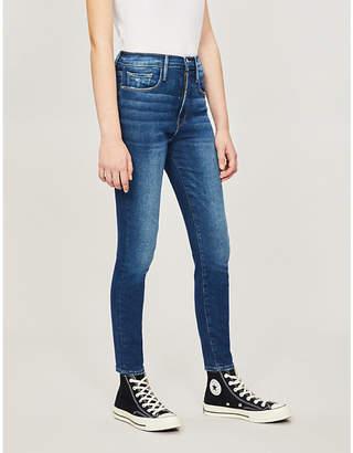 Frame Ali skinny cigarette ultra-high-rise jeans