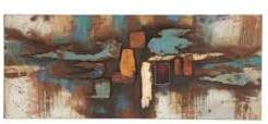 Abstract Rustic Iron Wall Art