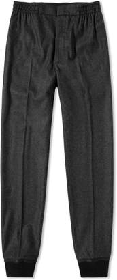 Alexander McQueen Wool Flannel Trouser