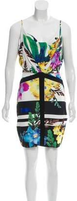 Just Cavalli Sleeveless Mini Dress