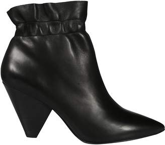 Ash Pointed Toe Ankle Boots
