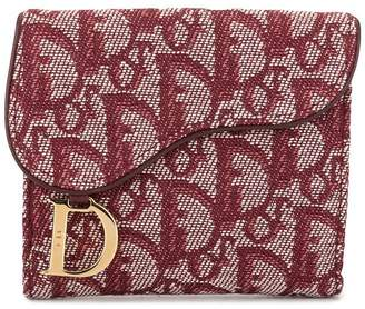 Christian Dior Pre-Owned Trotter pattern coin case