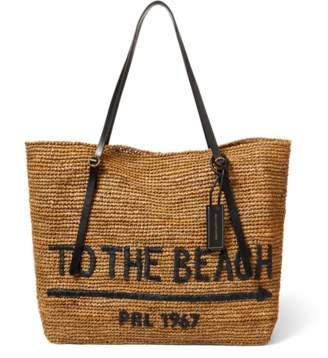 2ccffa06ef5e low price tags attached ralph lauren handbag 56589 eaa1f  clearance at ralph  lauren ralph lauren raffia tote bag 3f4e5 b8aba