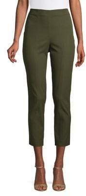 Elie Tahari Jessalyn High-Rise Crop Pants