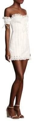 For Love & Lemons Anabelle Eyelet Lace Dress