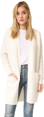 Vince Honeycomb Cardigan $485 thestylecure.com