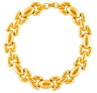 Givenchy Domed Link Collar Necklace