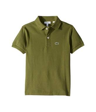 Lacoste Kids L1812 Short Sleeve Classic Pique Polo (Toddler/Little Kids/Big Kids)