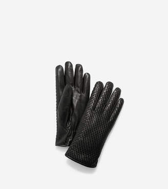 Cole Haan Brayton Weave Gloves