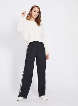 Miss Selfridge Stripe jersey long leg trousers