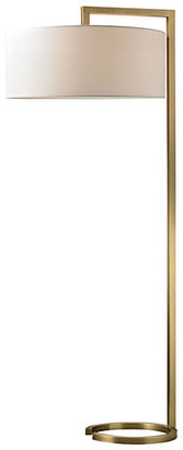 One Kings Lane Ring Floor Lamp - Antiqued Brass