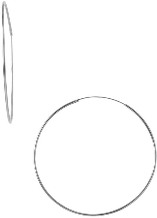 Argento Vivo Endless Extra Large Hoop Earrings