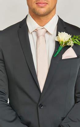 Show Me Your Mumu Nico Neck Tie ~ Dusty Blush Stripe