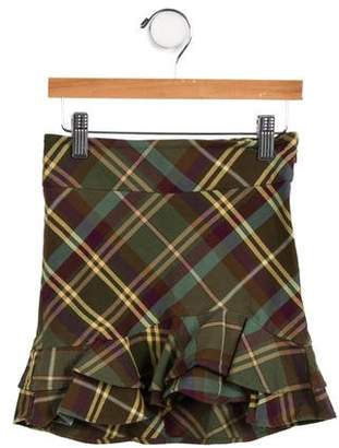 Ralph Lauren Girls' Plaid Skirt
