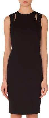 Akris Punto Cutout Jersey Dress