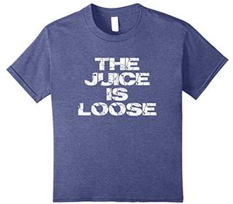 Casual Summer Trendy THE JUICE IS LOOSE Electric T-shirt