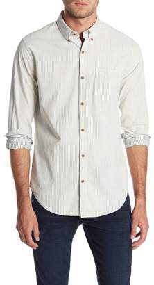 Lucky Brand Heritage Stripe Slim Fit Woven Shirt