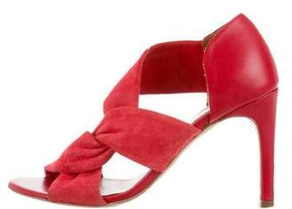 IRO Suede & Leather Sandals
