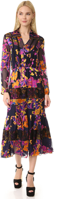 Saloni Alyssa Dress $650 thestylecure.com
