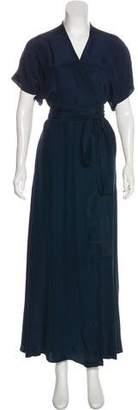 Rhode Resort Silk Short Sleeve Dress