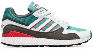 adidas Green Ultra Tech low-top sneakers