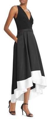 Lauren Ralph Lauren Faille Fit-and-Flare Dress