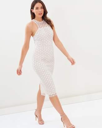 Cooper St Karlie High Neck Lace Dress