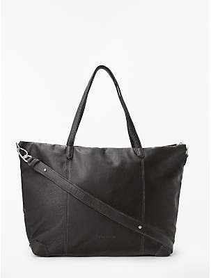 Liebeskind Berlin Kaethe Leather Zip Top Tote Bag