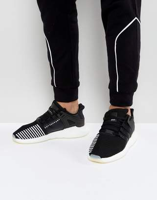 adidas EQT Support 93/17 Trainers In Black BZ0585