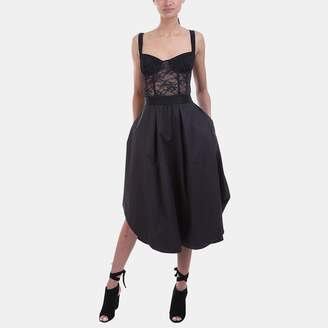KENDALL + KYLIE Kendall & Kylie Lace Up Tank Dress