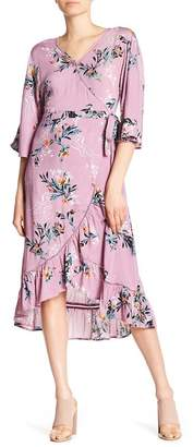 Cotton On & Co Caitlin Patterned Wrap Dress