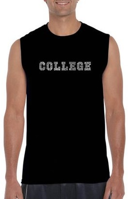 Pop Culture Los Angeles Pop Art Men's Sleeveless T-Shirt - College Drinking Games