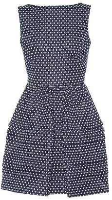 Miu Miu Sleeveless cotton-blend dress