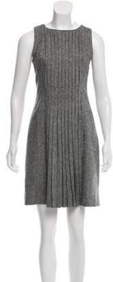 Tory Burch Pleated Wool Dress