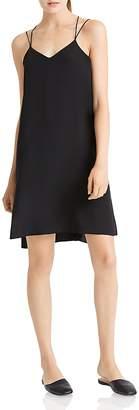 Halston Strappy Slip Dress