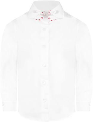 VIVETTA White aletheia Girl Shirt With Iconic Collar