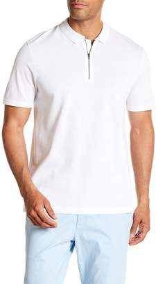 Vince Zip Polo Shirt