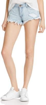 New Era Pistola Gigi Low Rise Denim Shorts in 100% Exclusive
