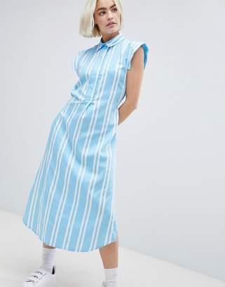 Mads Norgaard Stripe Shirt Dress