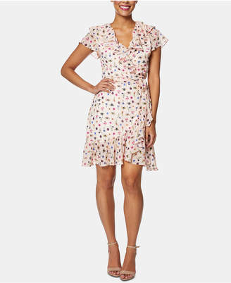 Betsey Johnson Bug Garden Wrap Dress