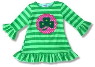 Honeydew Honey Dew Girls Shamrock Dress