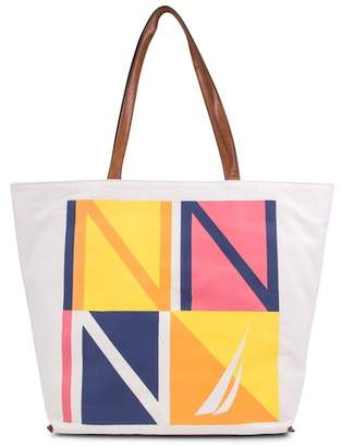 Nautica Nevertheless She Sailed Tote Bag