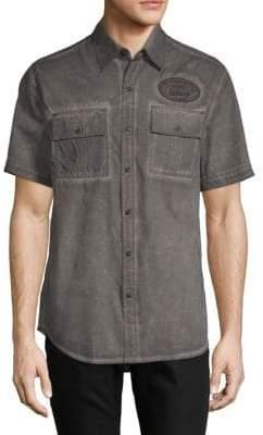 Affliction Richland Cotton Button-Down Shirt