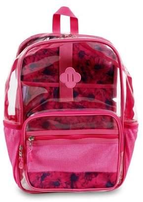J World Clear Transparent Backpack, Bellis