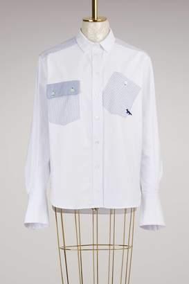 MAISON KITSUNÉ Button-Down Shirt