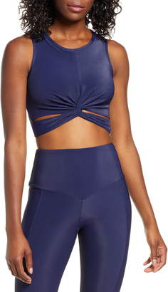 Onzie Front Twist Crop Top
