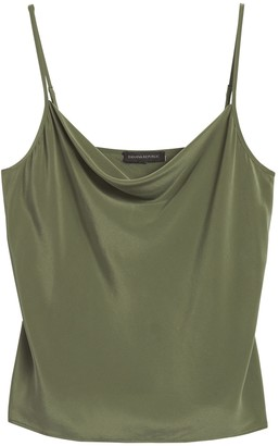 Banana Republic Washable Silk Cowl-Neck Camisole